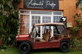 location Mini Moke marron